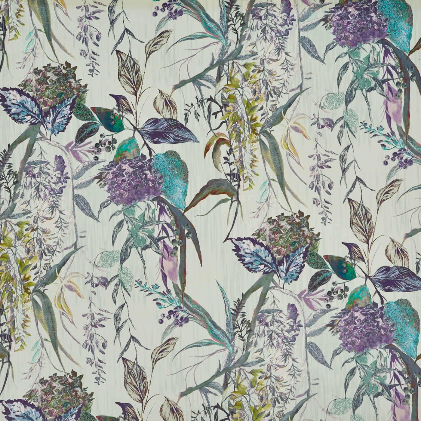 Botanist Evergreen Upholstery Fabric
