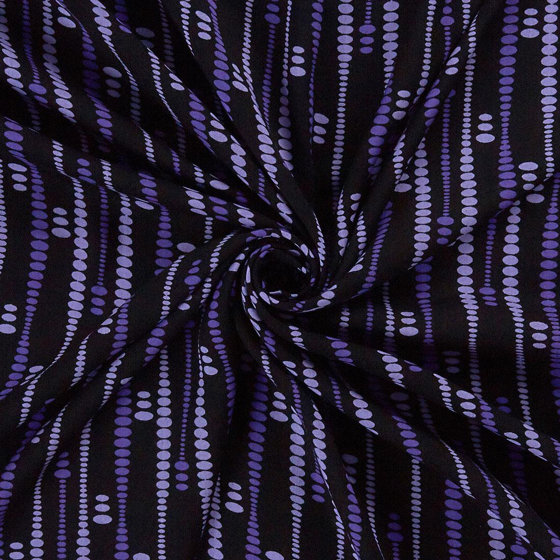 Abstract Dot Print Purple