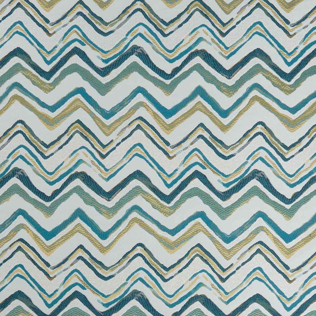 Alisha Teal Upholstery Fabric