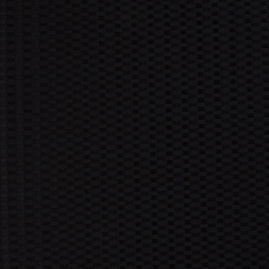 Basketweave Black Dress Fabric