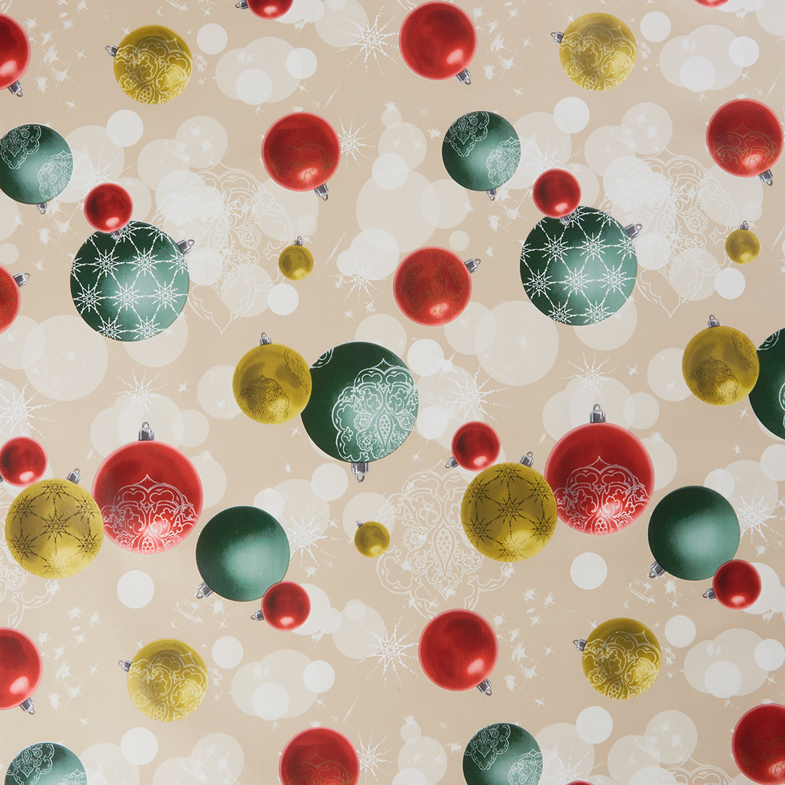 Bauble Red Oil Cloth