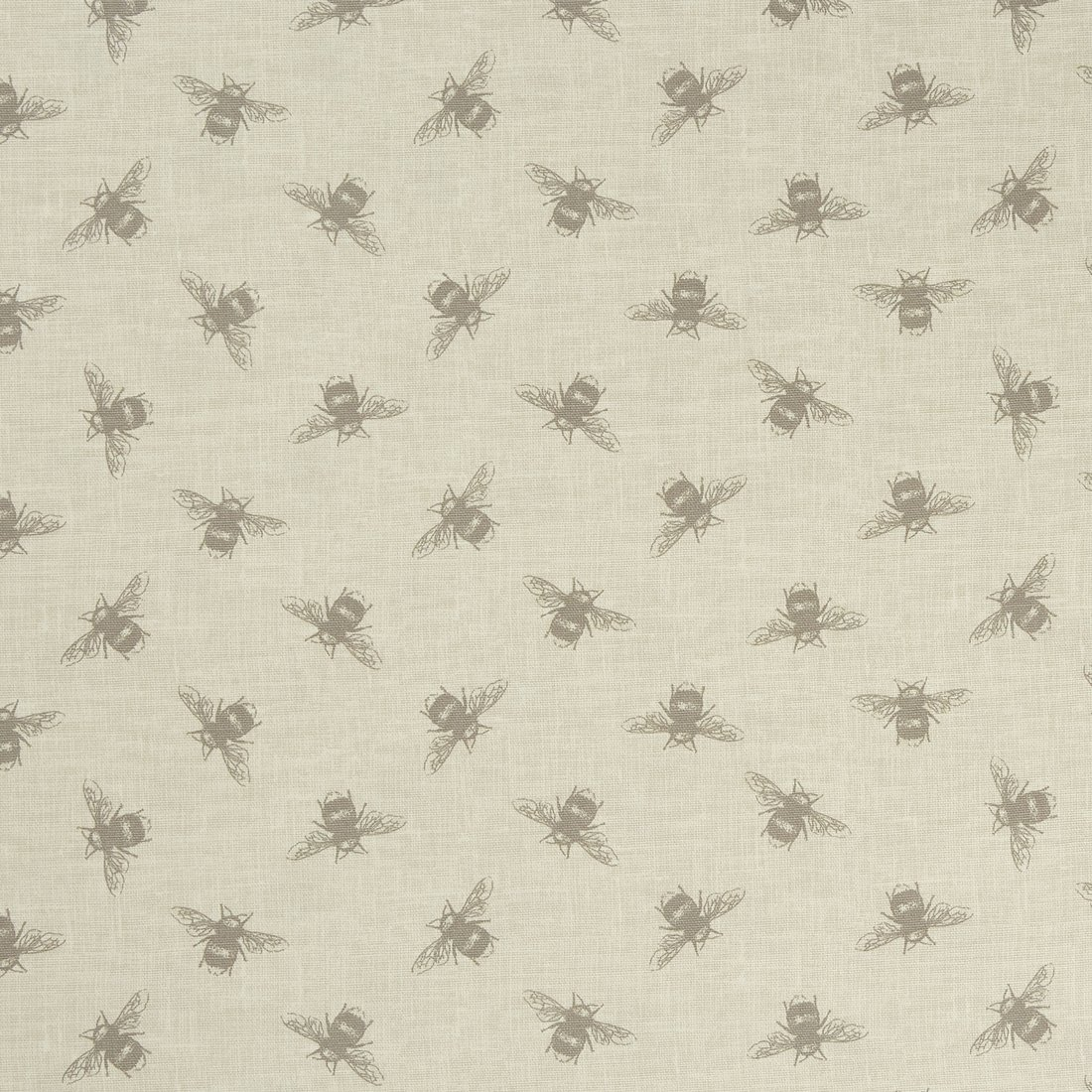 Bees Linen Curtain Fabric