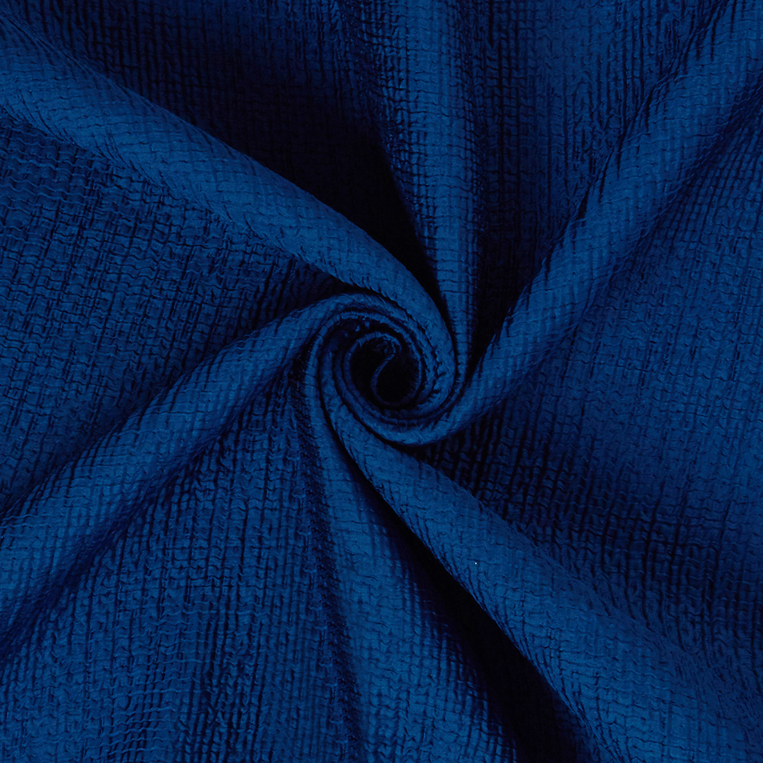 Bonded Crinkle Peacock Dress Fabric