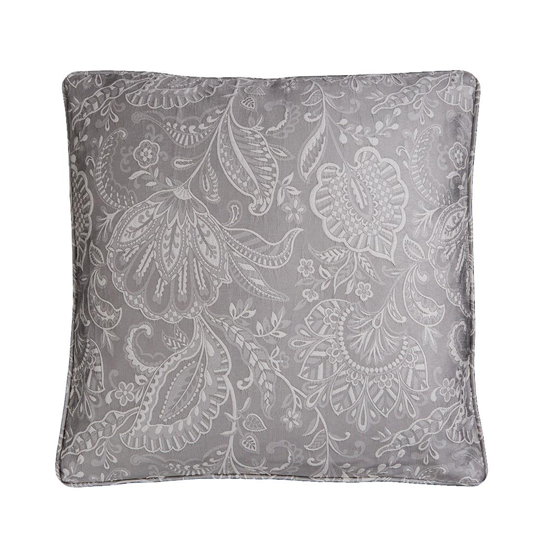 Bordeaux Silver Cushion
