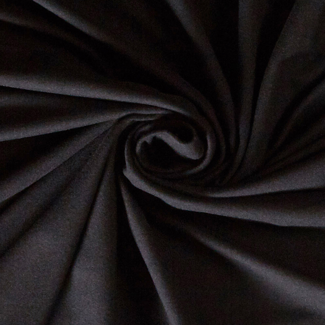 Brushed Jersey Black