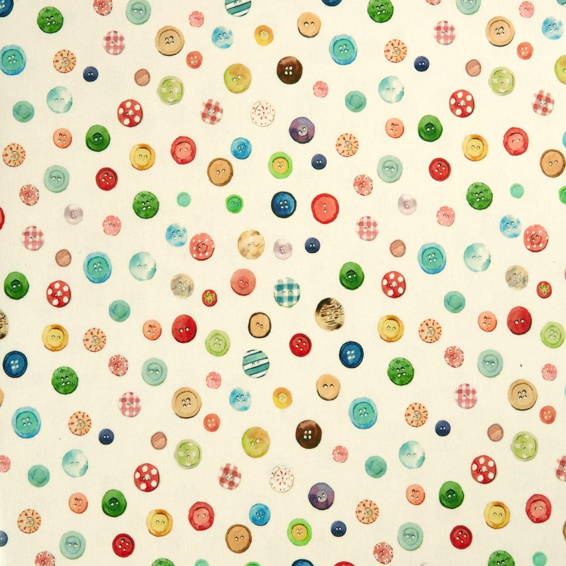 Button Box Cream PVC