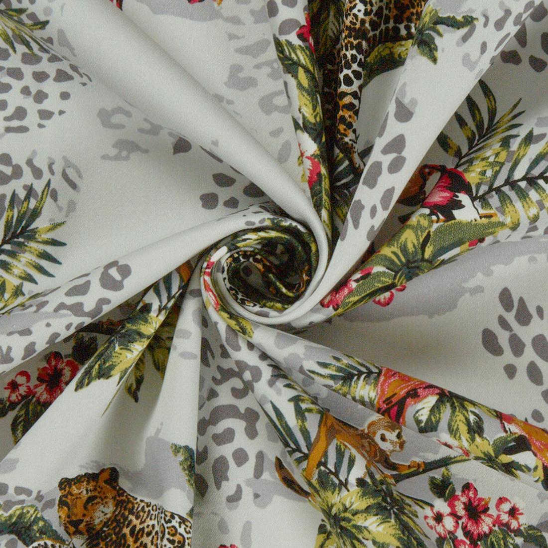Carara Ivory Dress Fabric