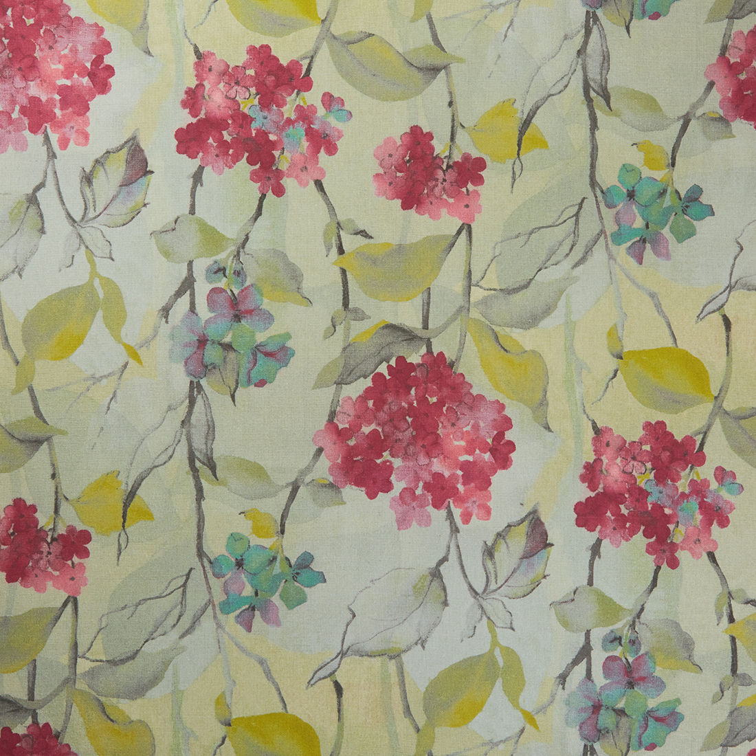 Carron Mulberry Curtain Fabric