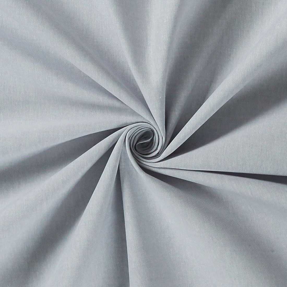 Chambray Plain Silver Craft Fabric