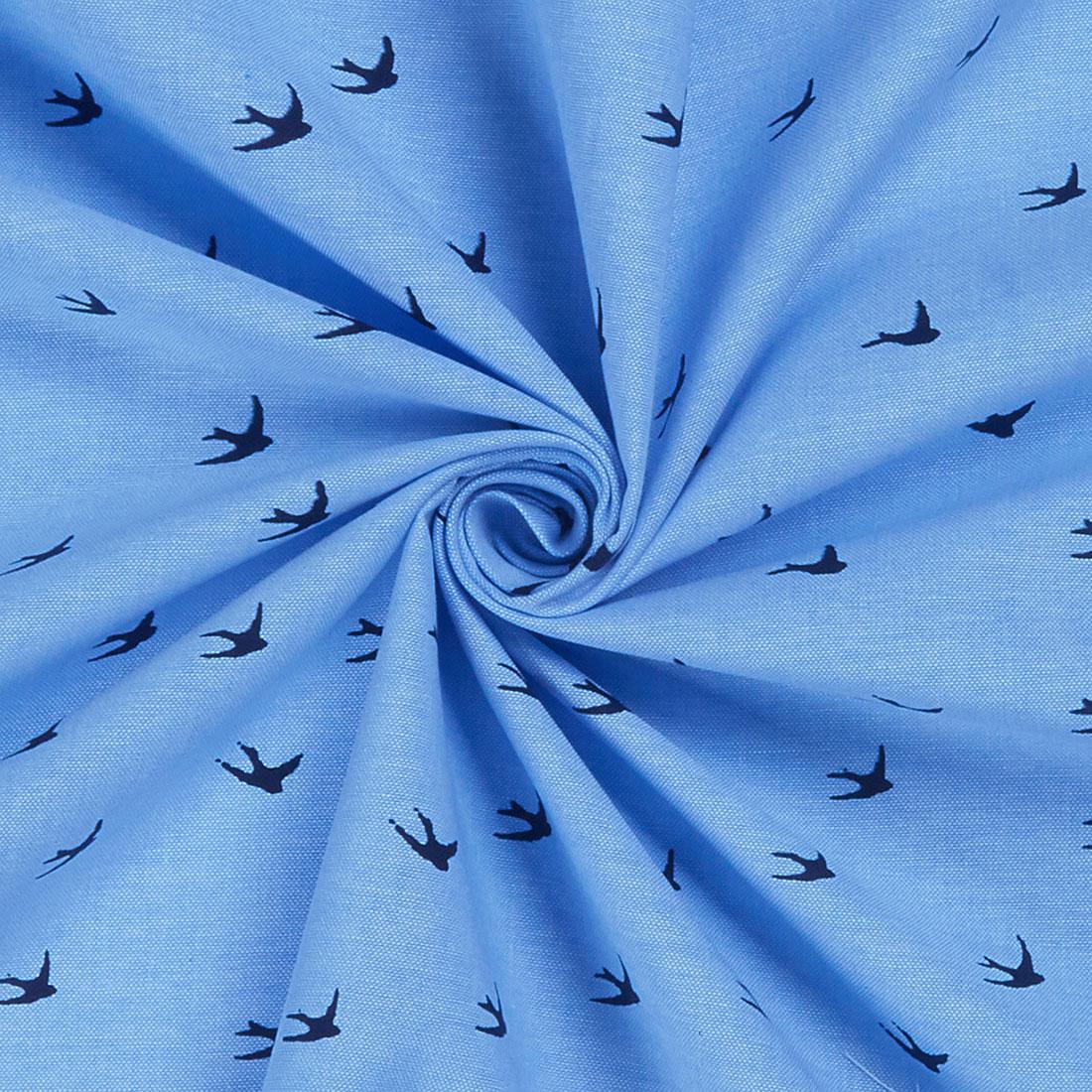 Chambray Swallow Medium Blue Craft Fabric