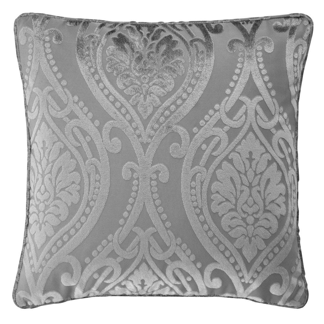 Chateau Devore Silver Cushion