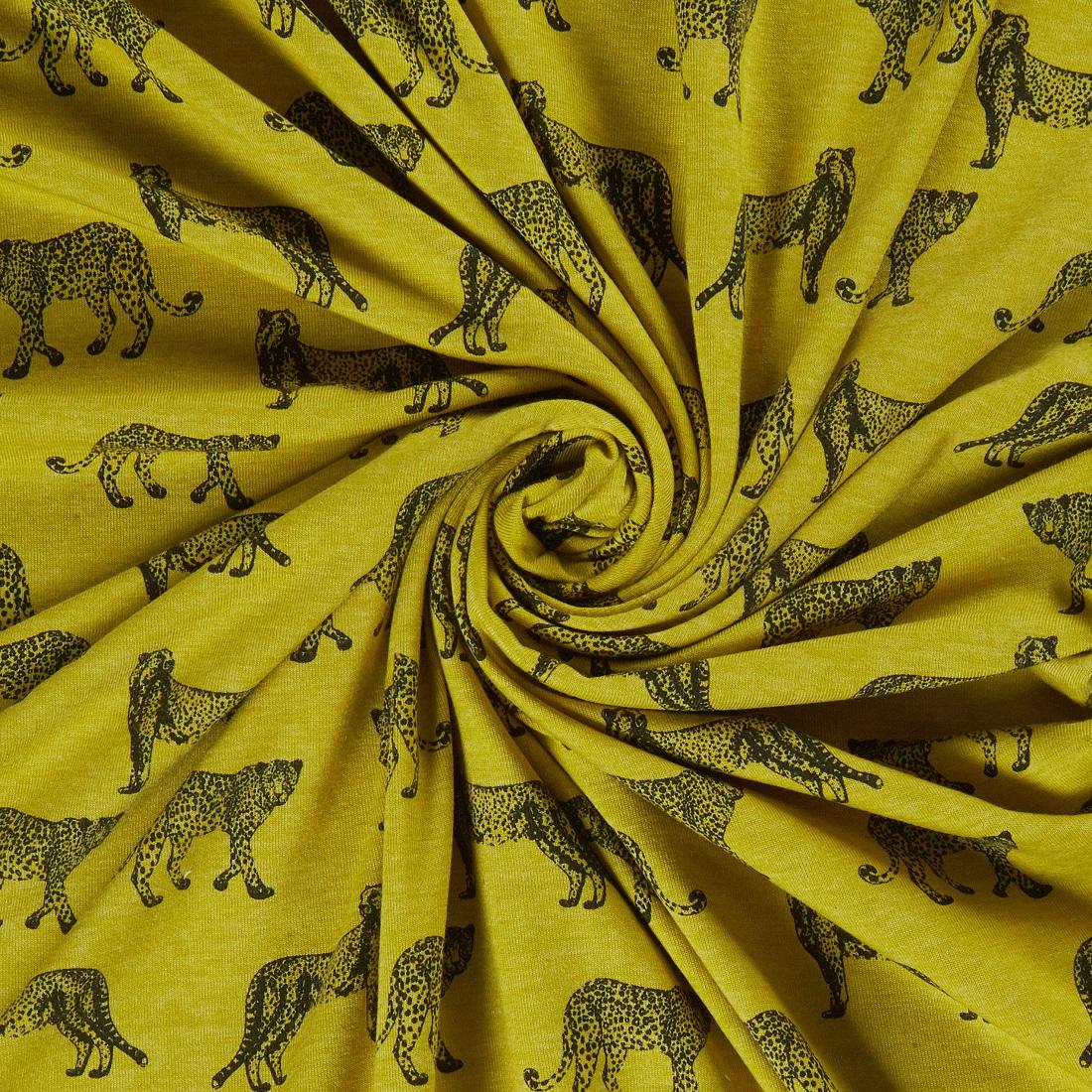 Cheetah Jersey Sage