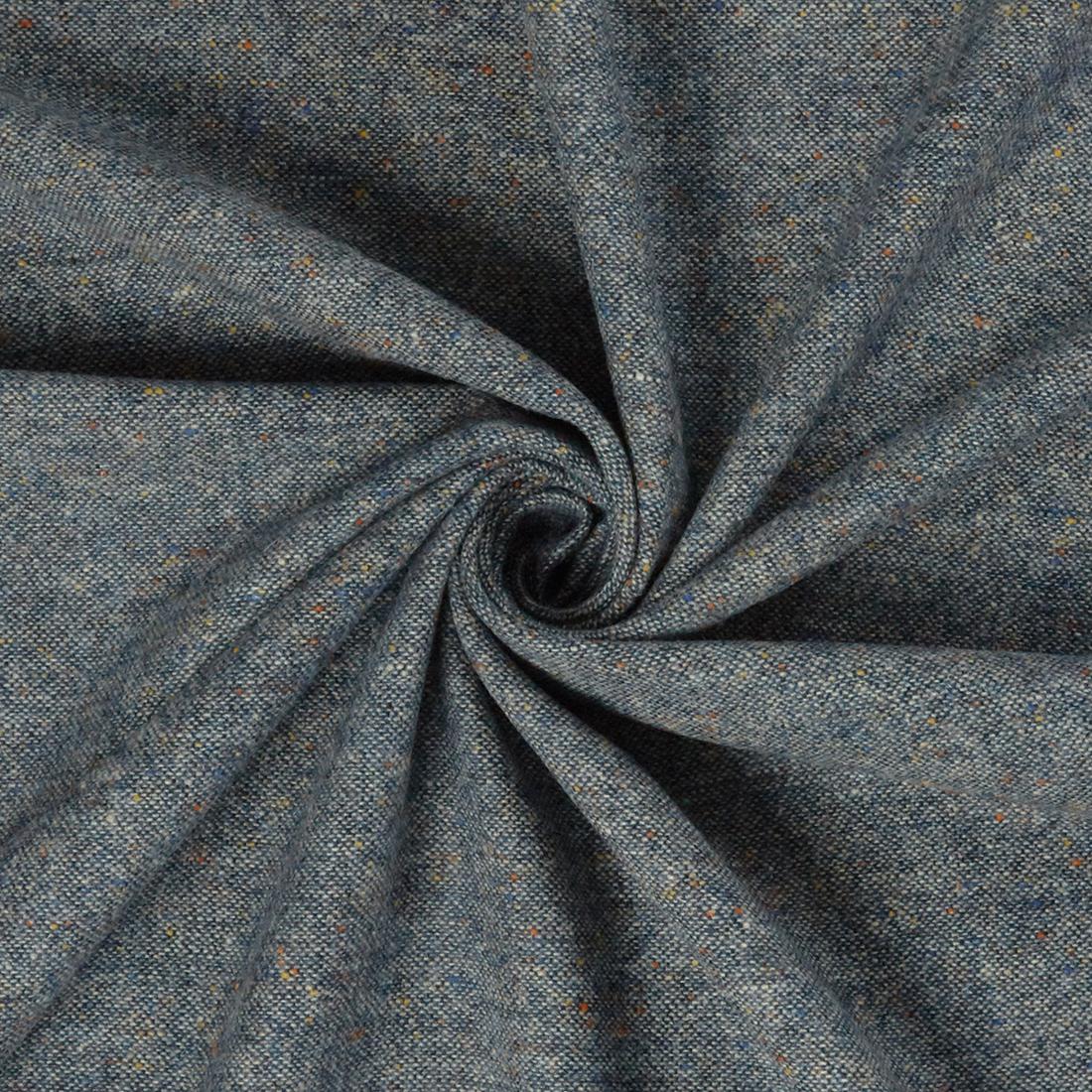 Classic Tweed Sky Dress Fabric