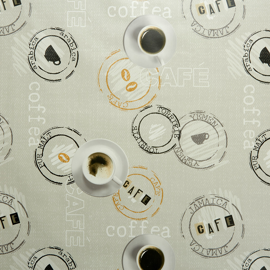 Coffee World Espresso Oil Cloth