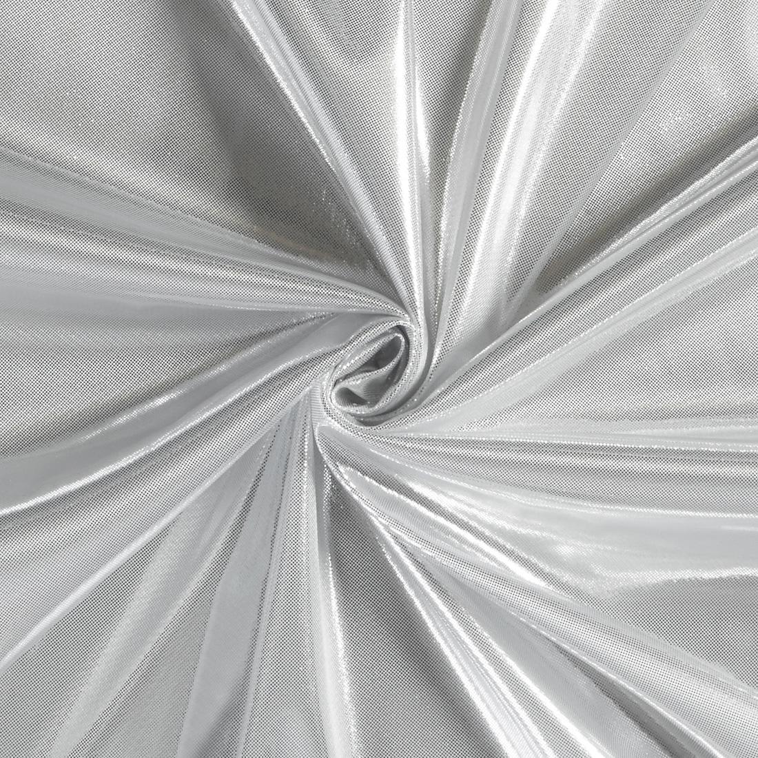 Computer Foil Jersey Lt Silver
