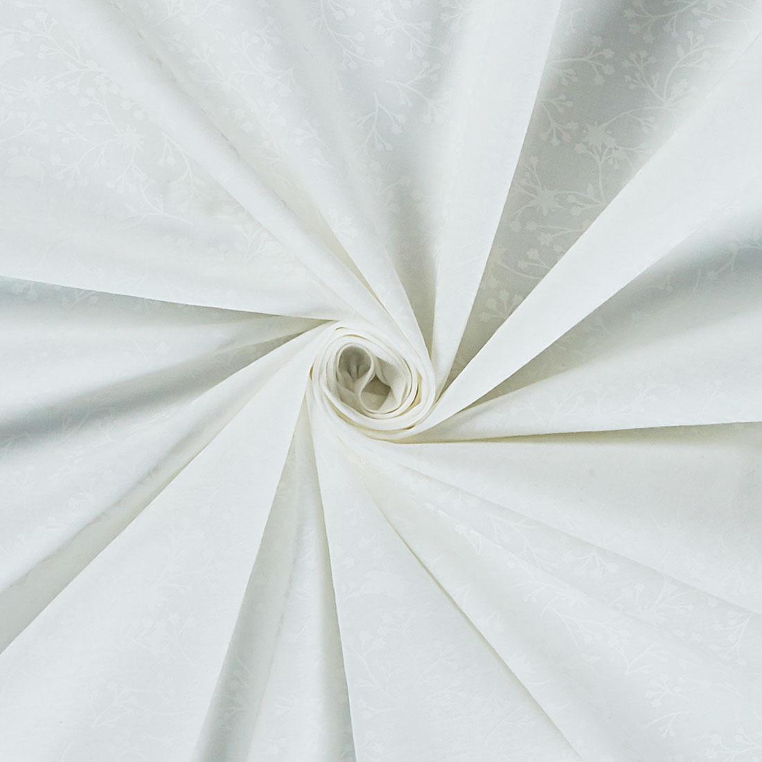 Cotton Floral White Blender