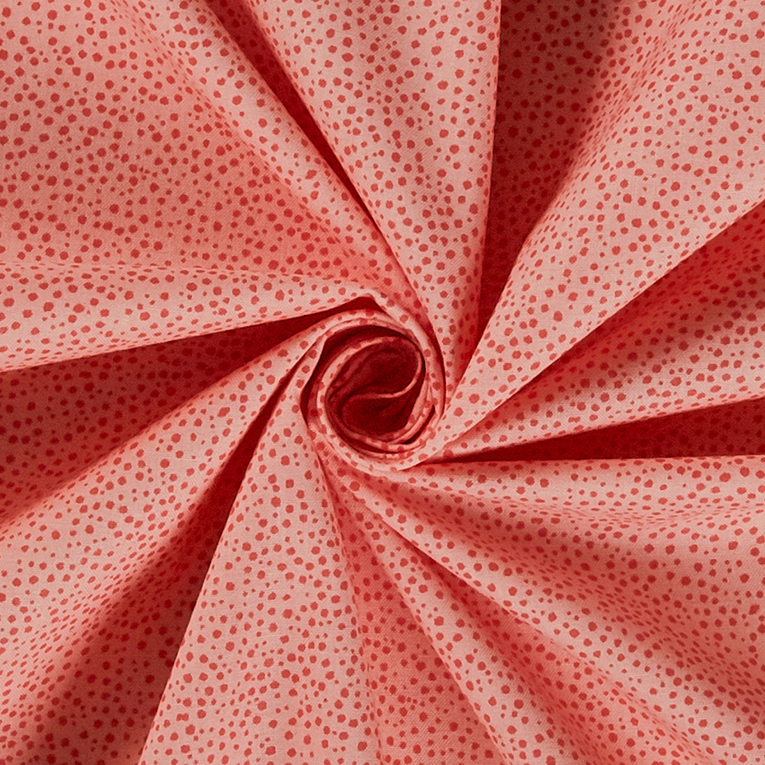 Cotton Marbella Dots Red