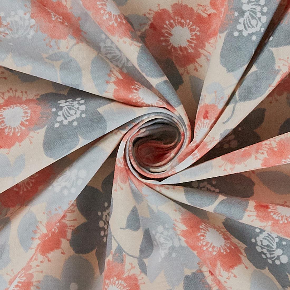 Cotton Marbella Multi Flower