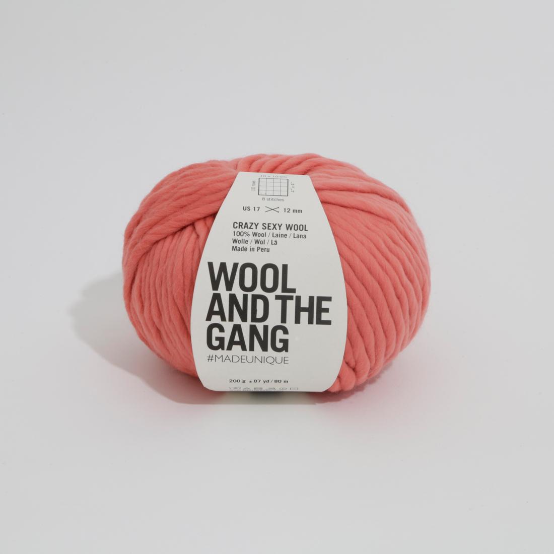 Watg Crazy Sexy Wool Pink Sherbet 186
