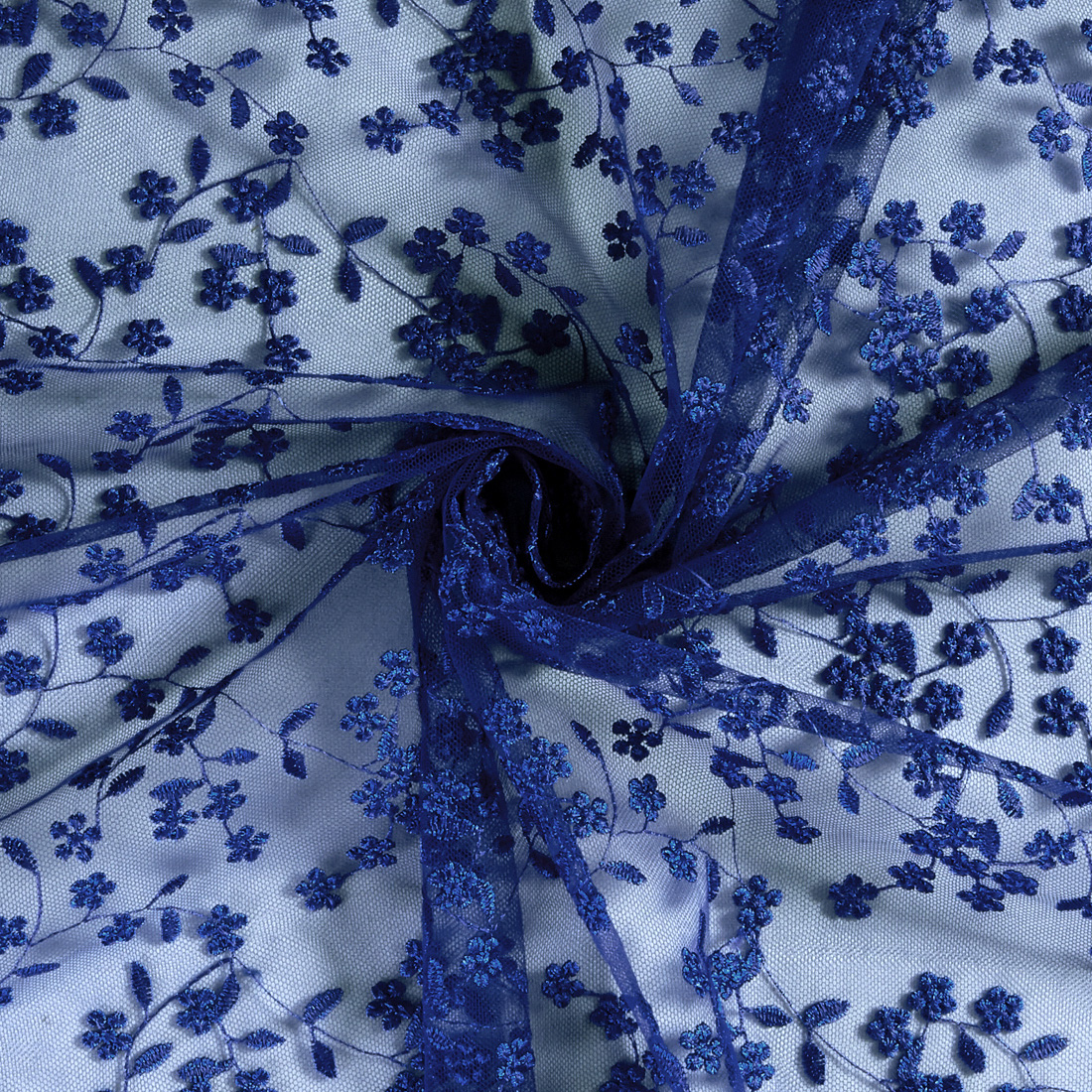 Daisy Embroidery Dark Navy