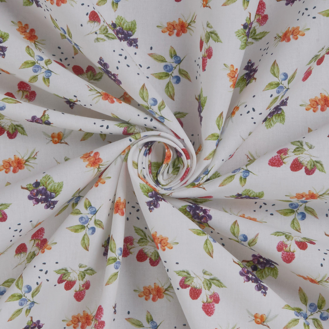 Delicate Fruit Lawn Dress Fabric