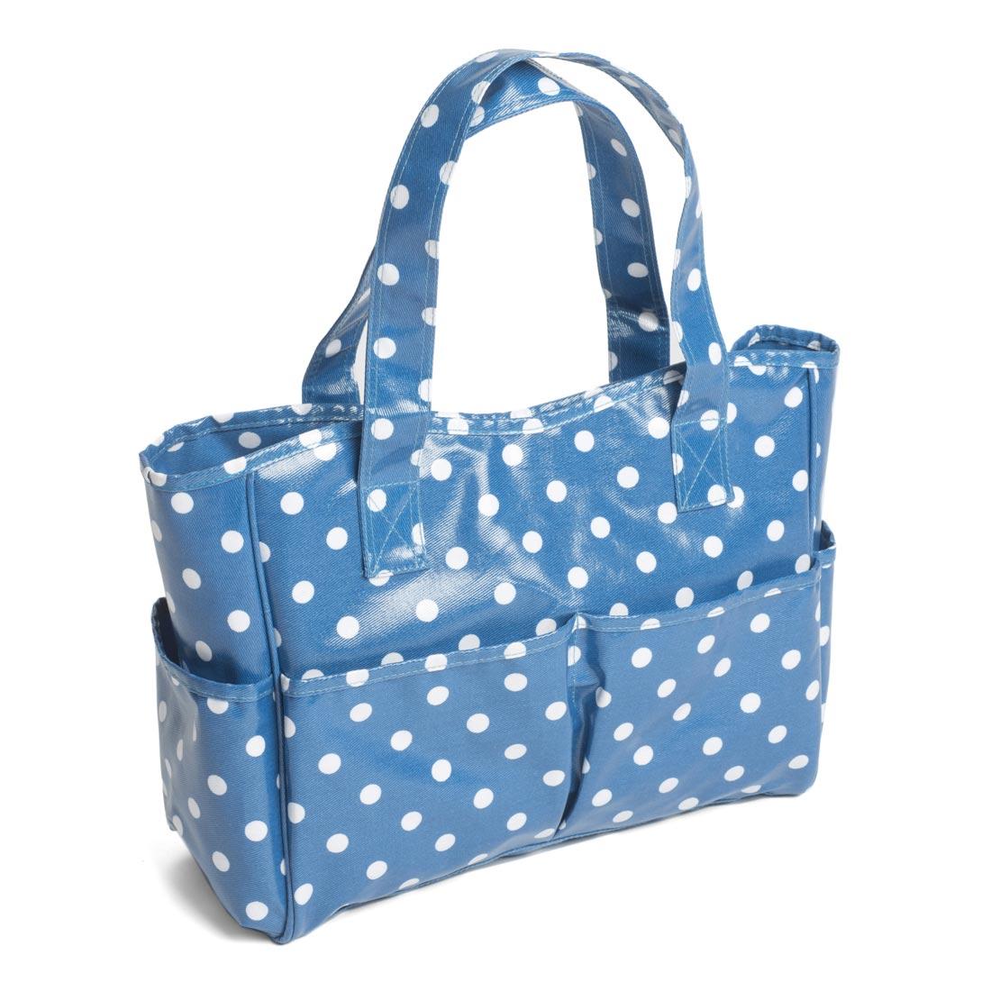 Denim Spot PVC Craft Bag