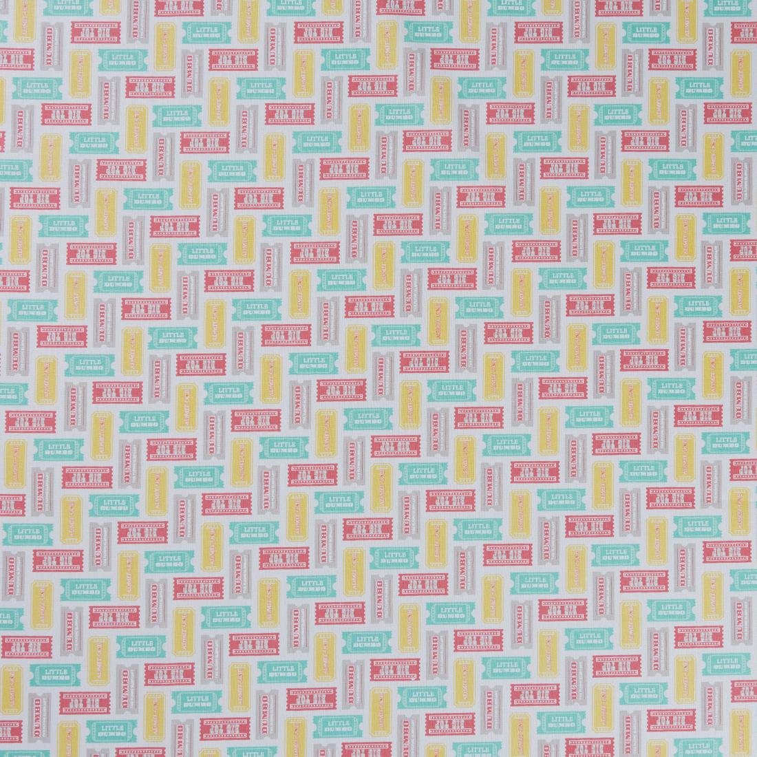 Dumbo Circus Tickets Multi Craft Fabric