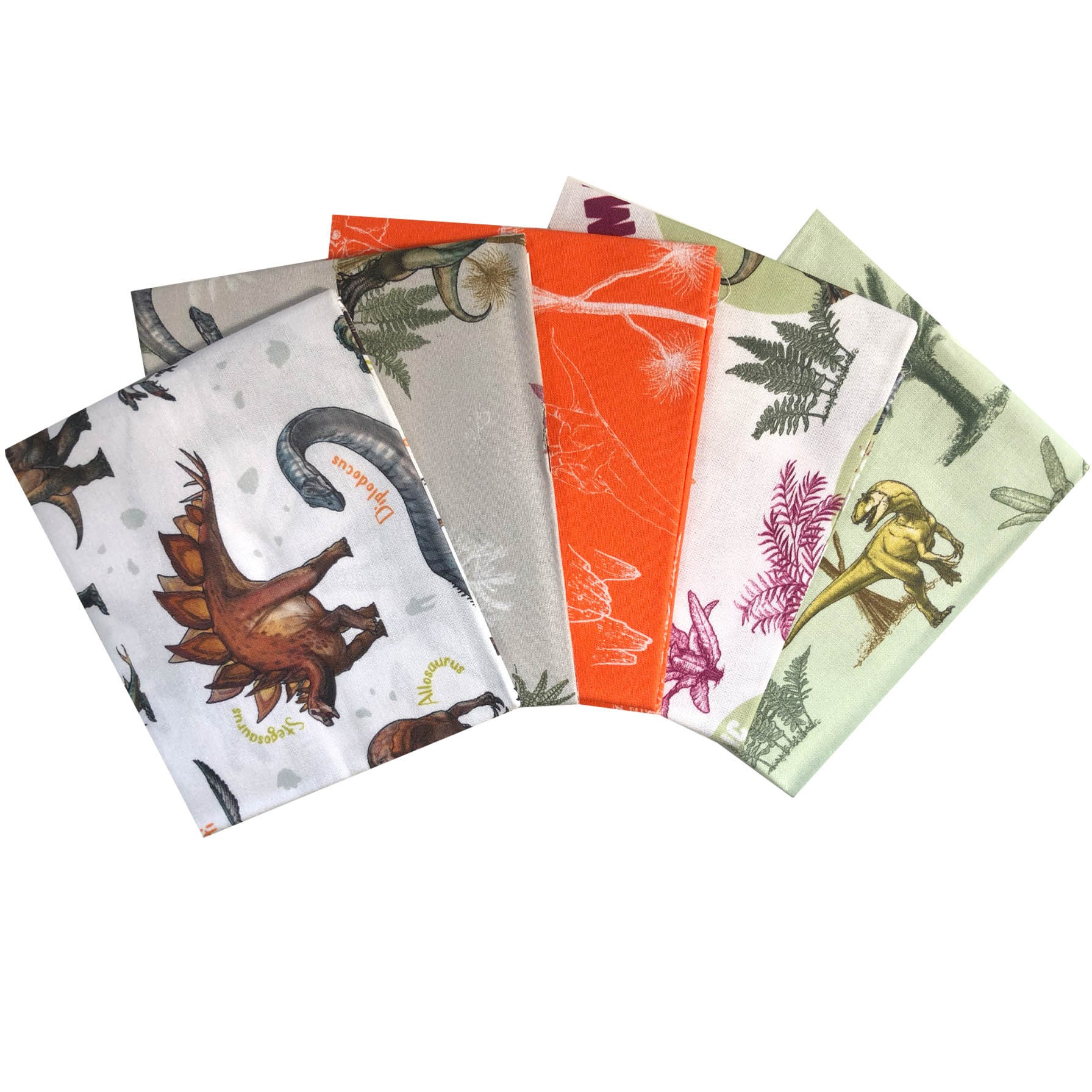 Fat Quarters Age Of The Dinosaurs