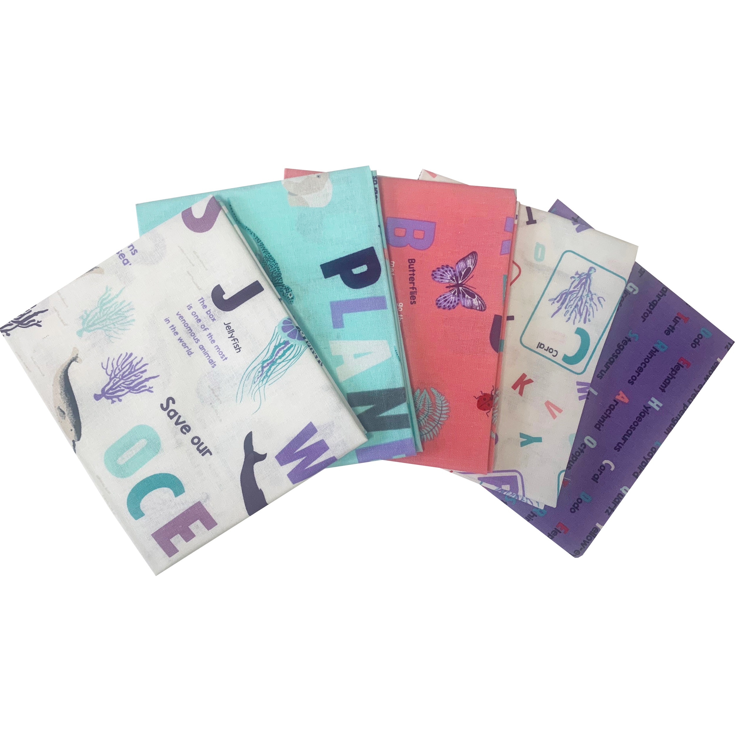 Fat Quarters Love Your World