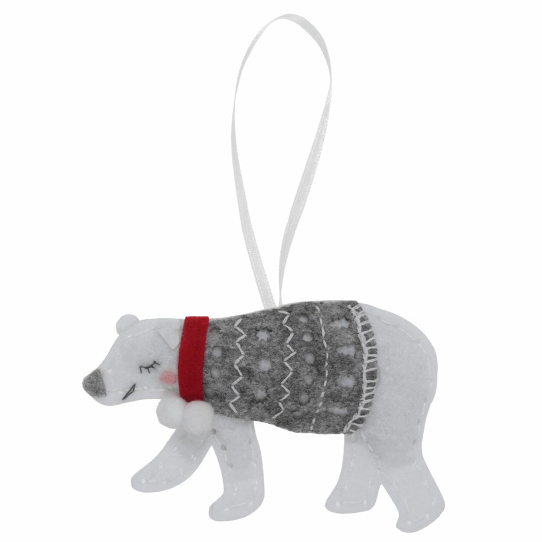 Felt Polar Bear Craft Kit