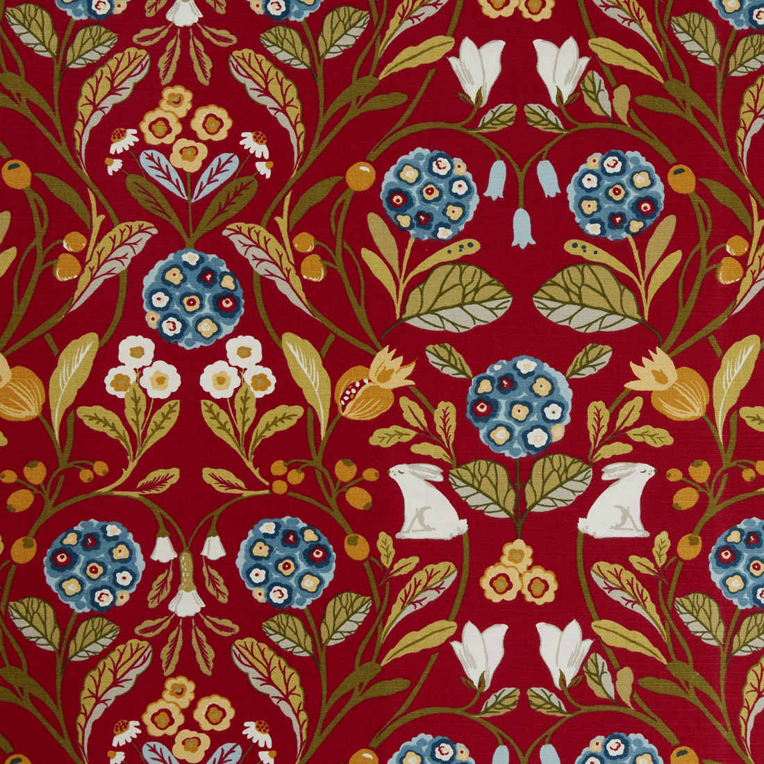 Forester Rouge Upholstery Fabric