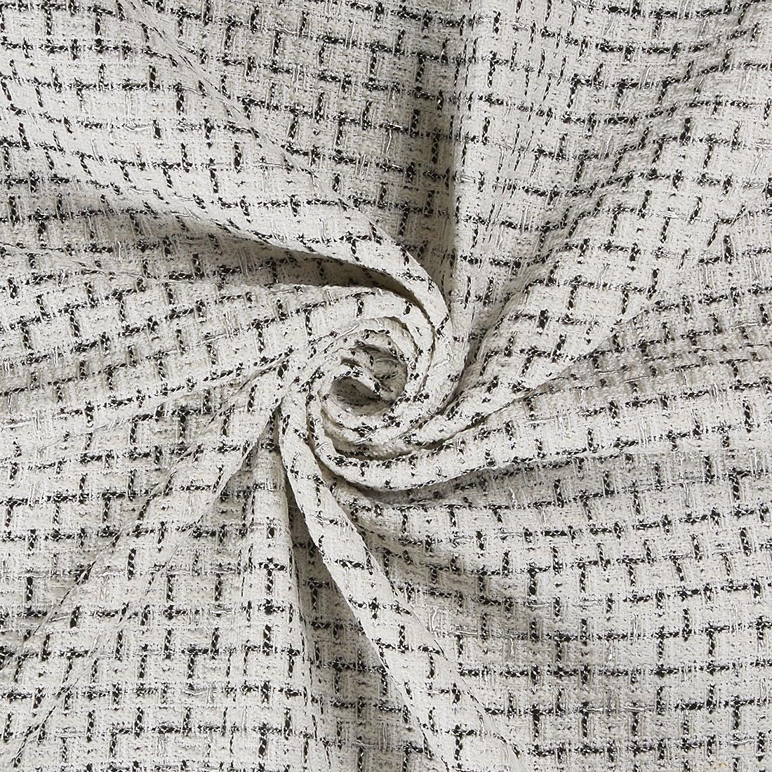 Garance Tweed White