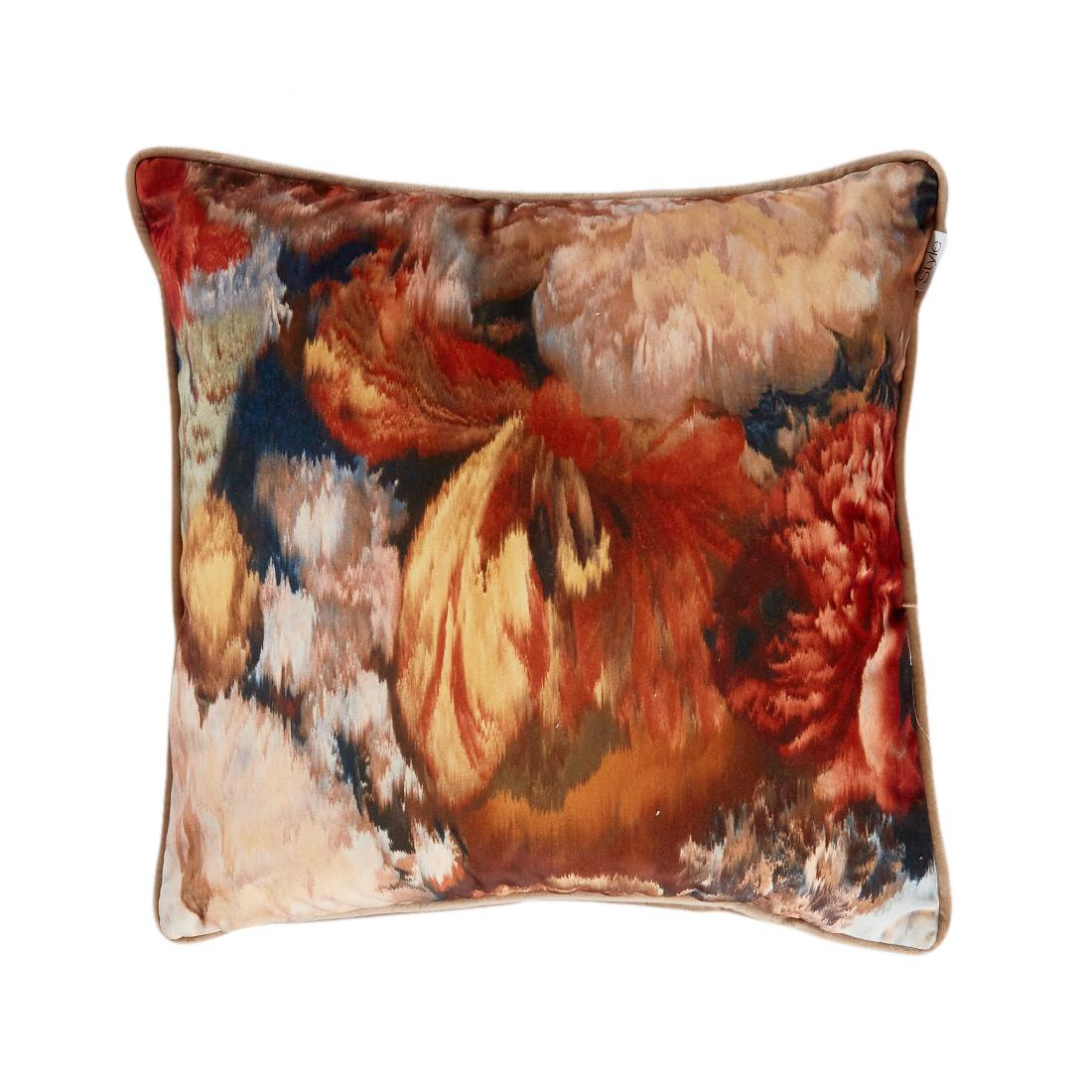 Garland Orange Cushion