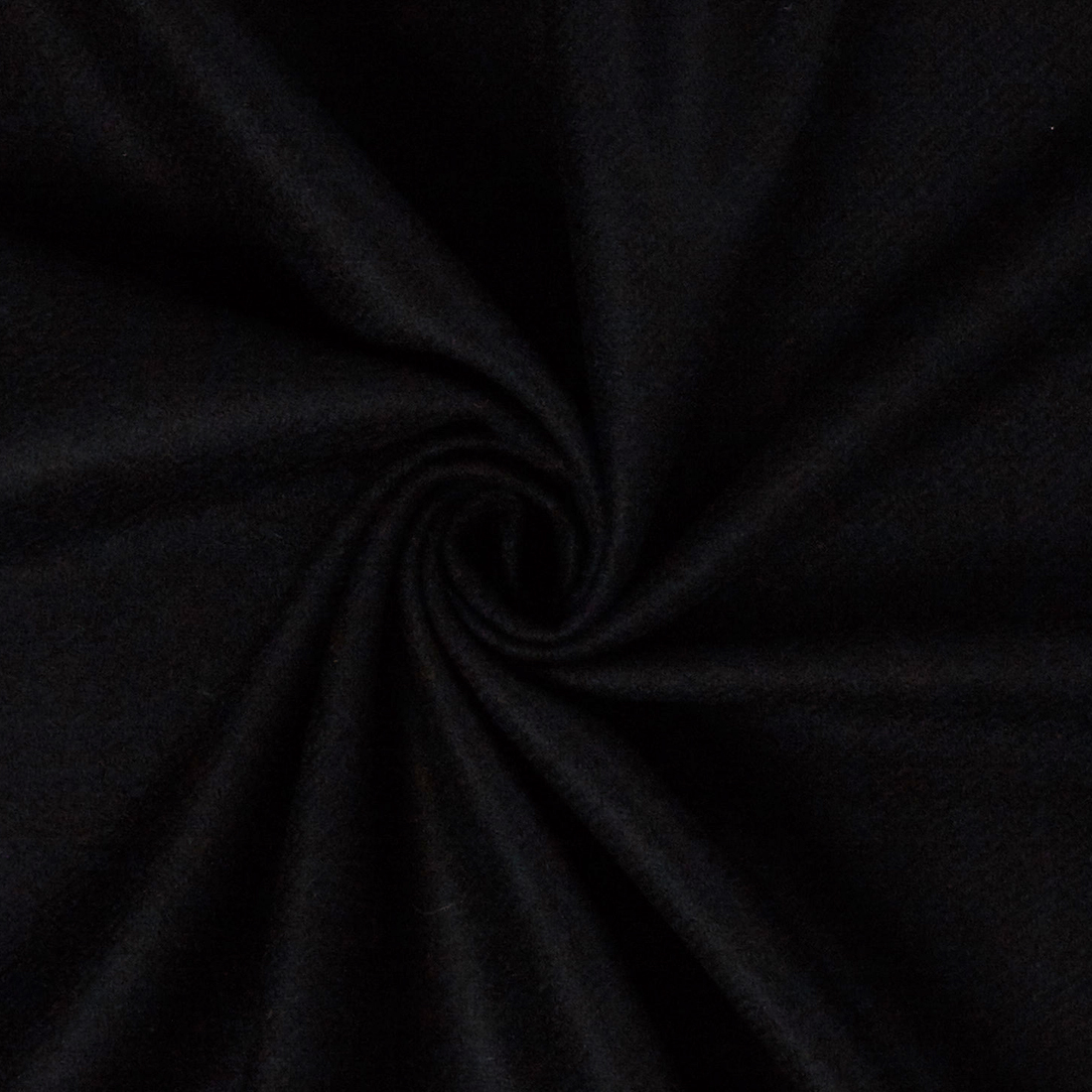 Heavy Wool Suiting Black Dress Fabric