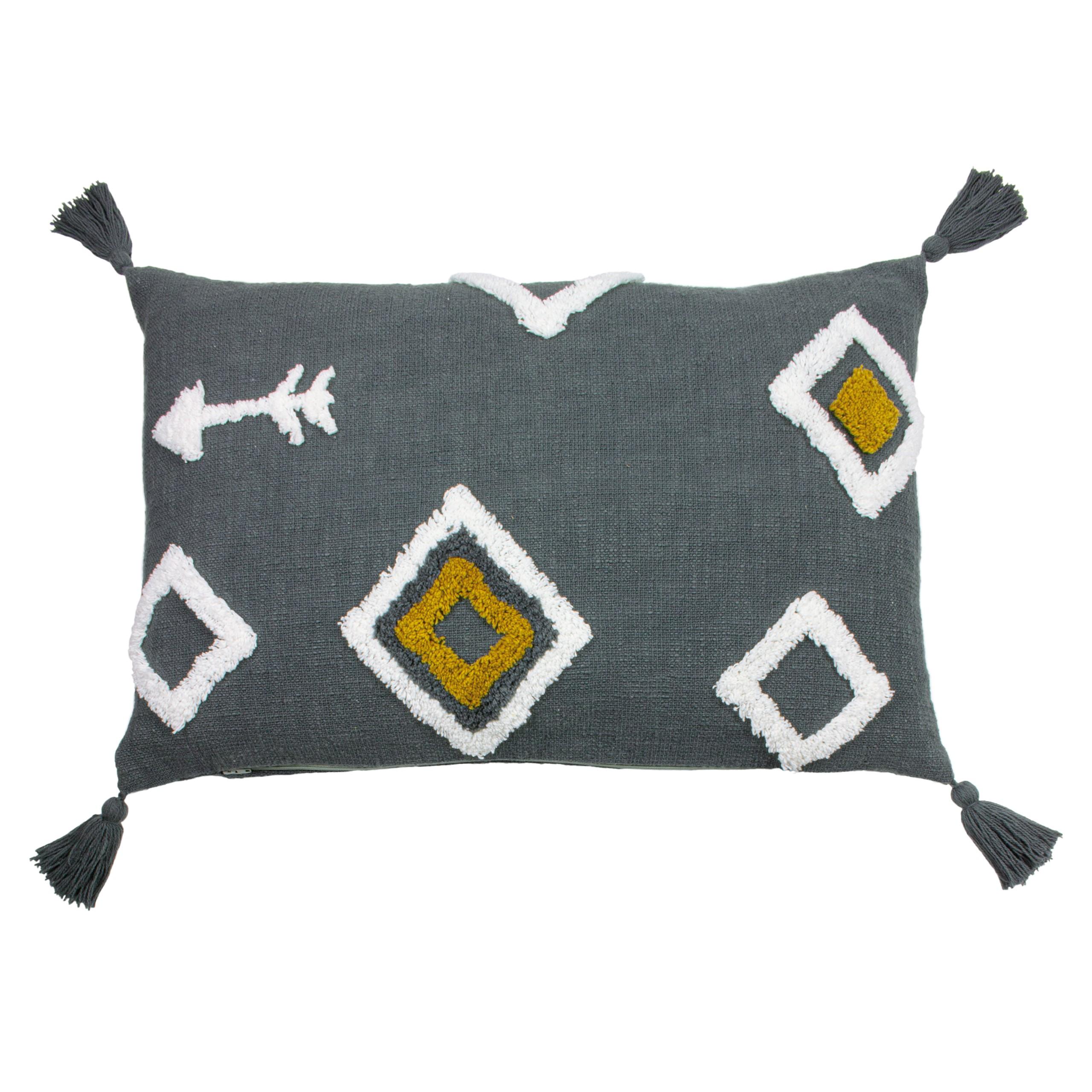 Inka Charcoal Cushion