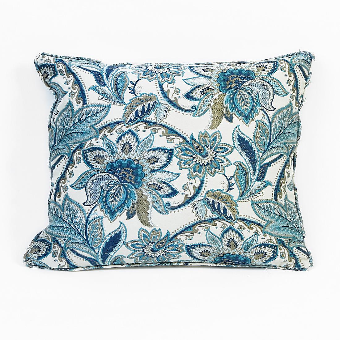 Jacobean Blue Cushion