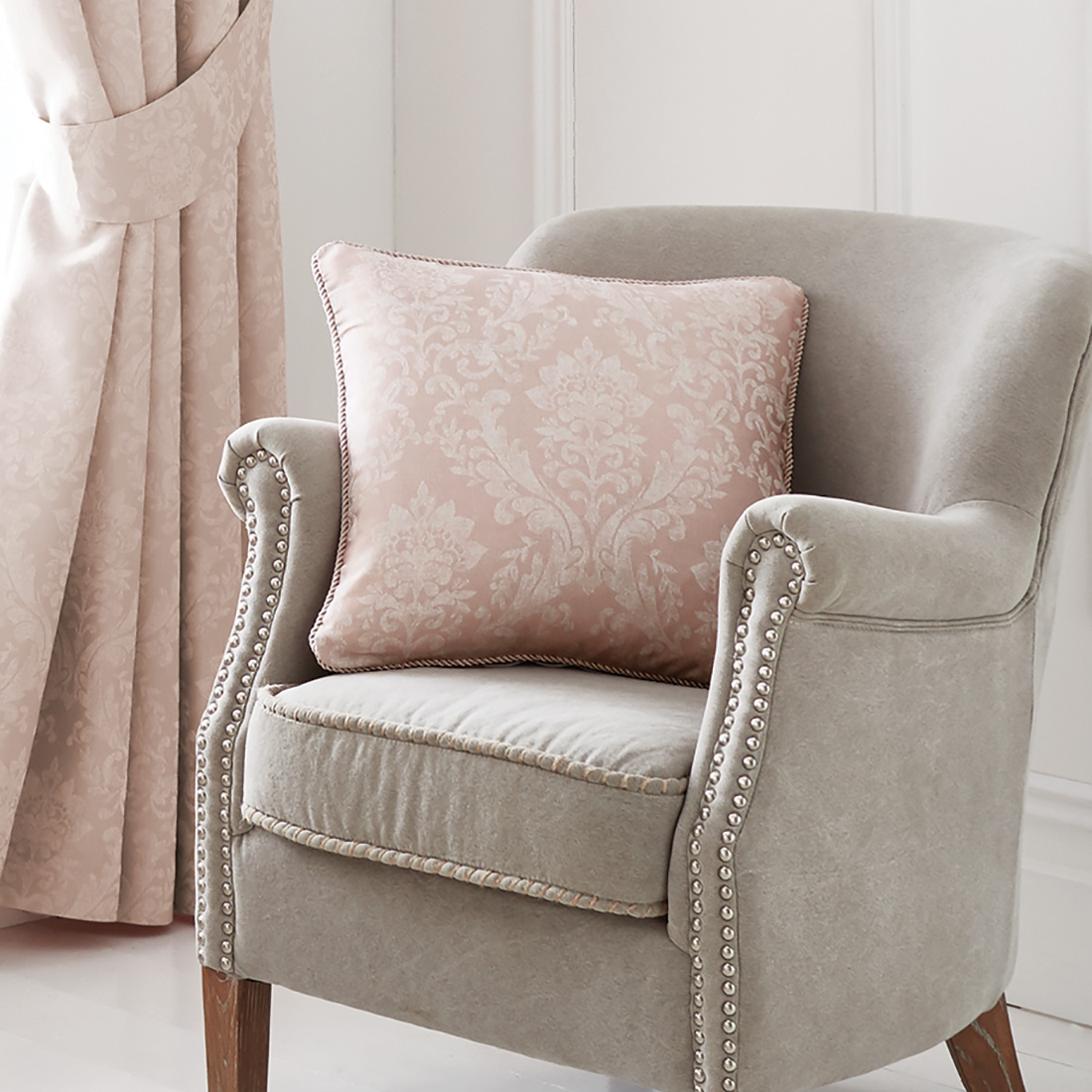 Laurent Pink Cushion