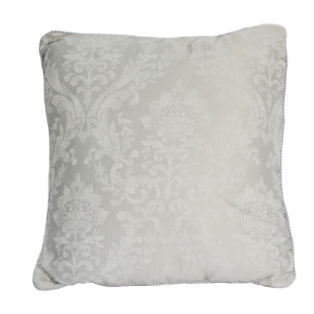 Laurent Silver Cushion