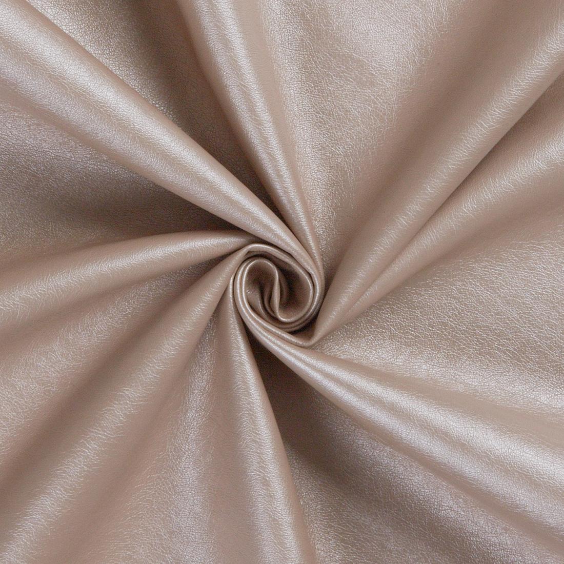 Leatherlook Rose Dress Fabric