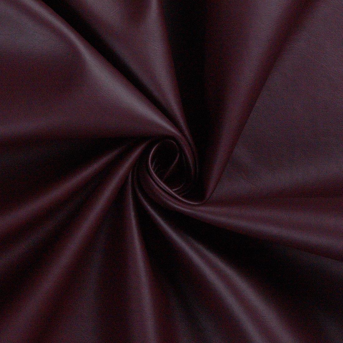 Leatherlook Wine Dress Fabric