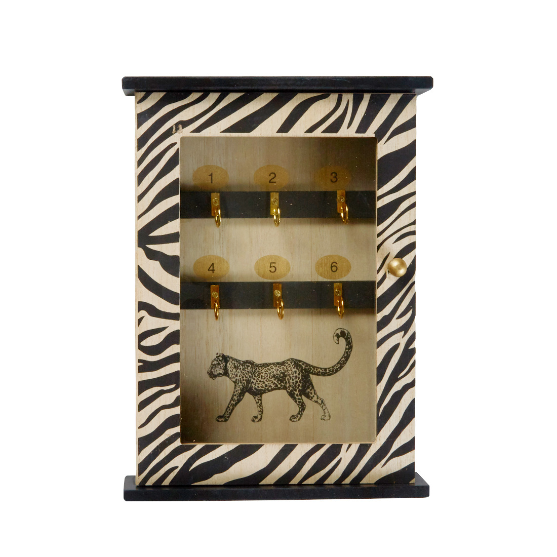Leopard Key Box