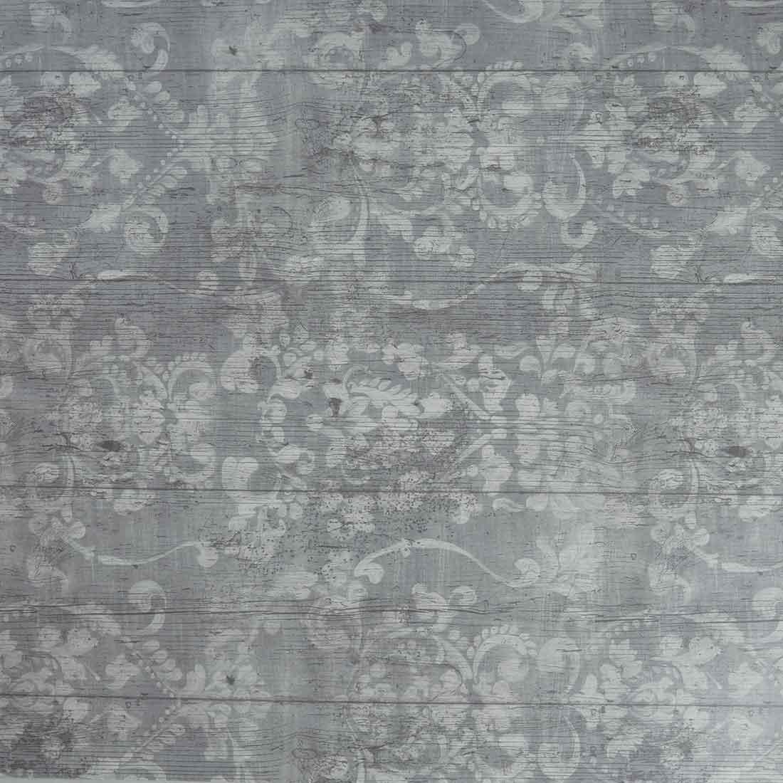 Louis Grey Oil Cloth