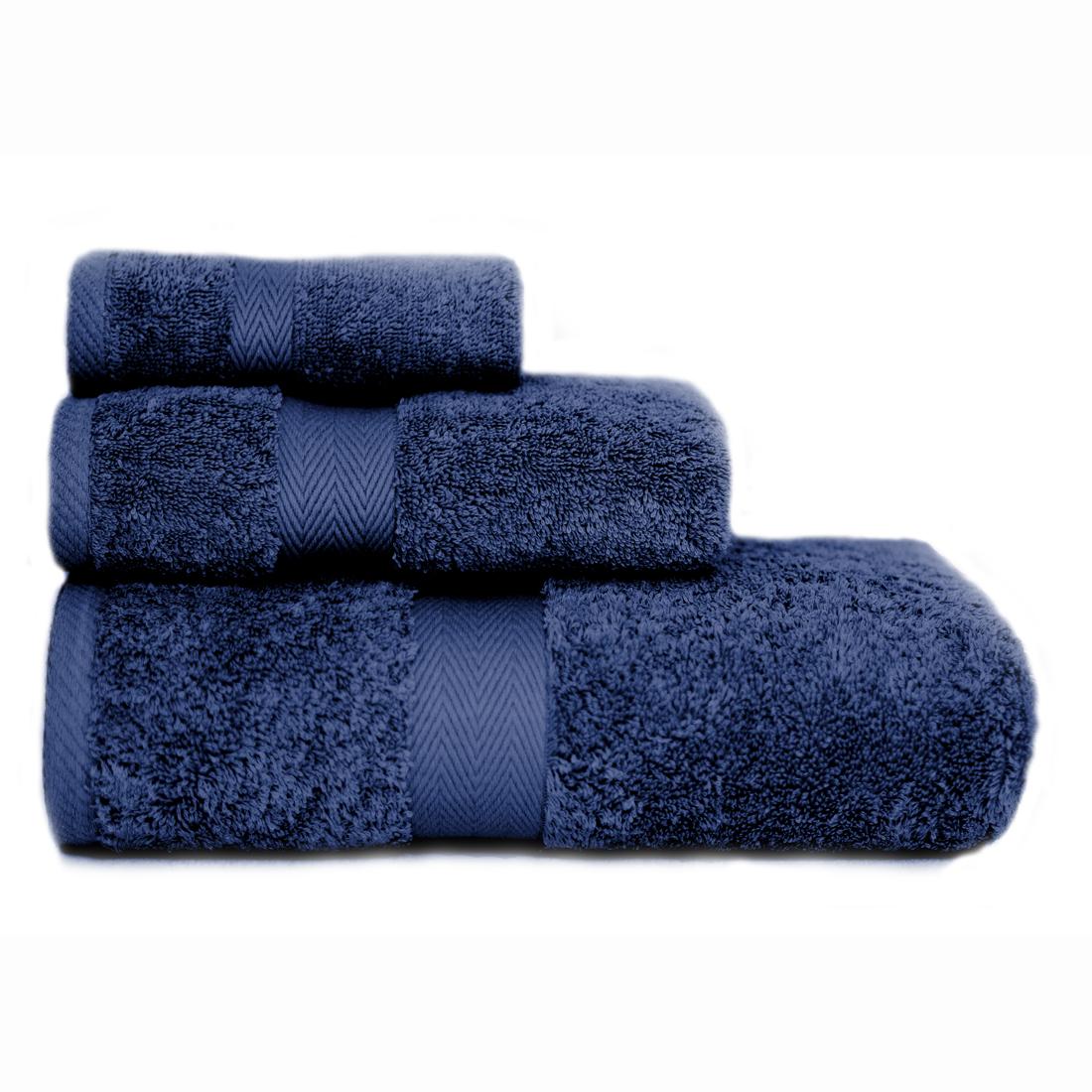 Luxor Navy Towels