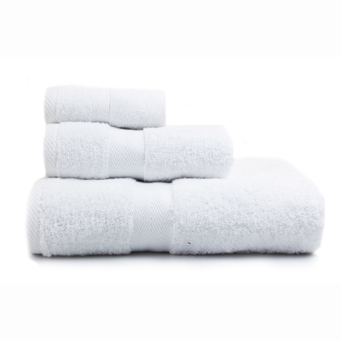 Luxor White Towels