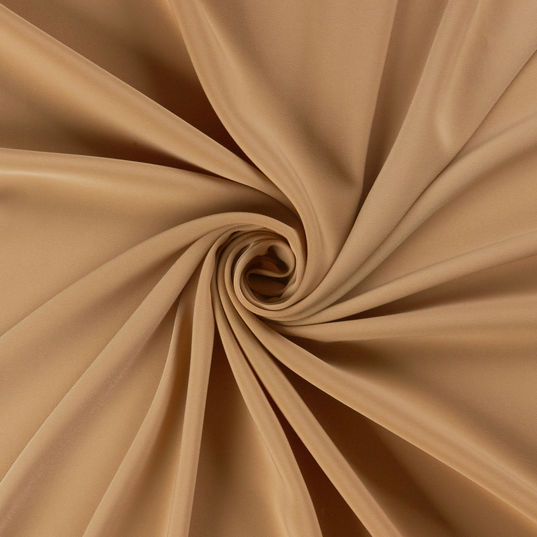 Luxury Crepe Beige Dress Fabric