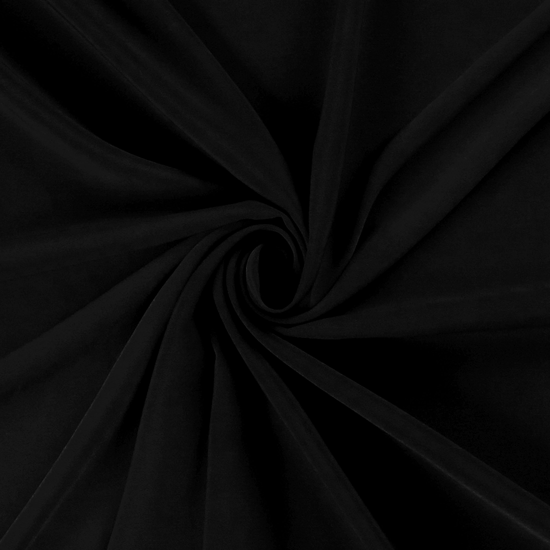 Luxury Crepe Black Dress Fabric