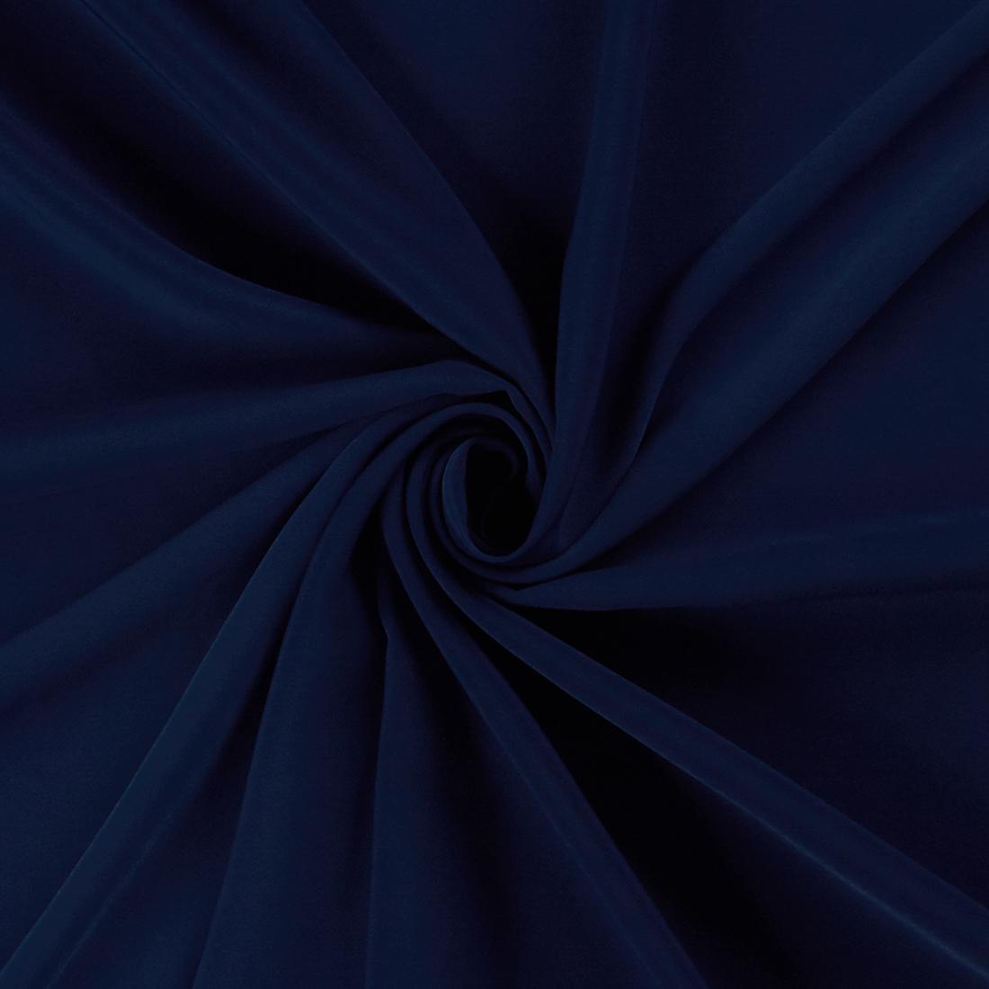 Luxury Crepe Navy Dress Fabric