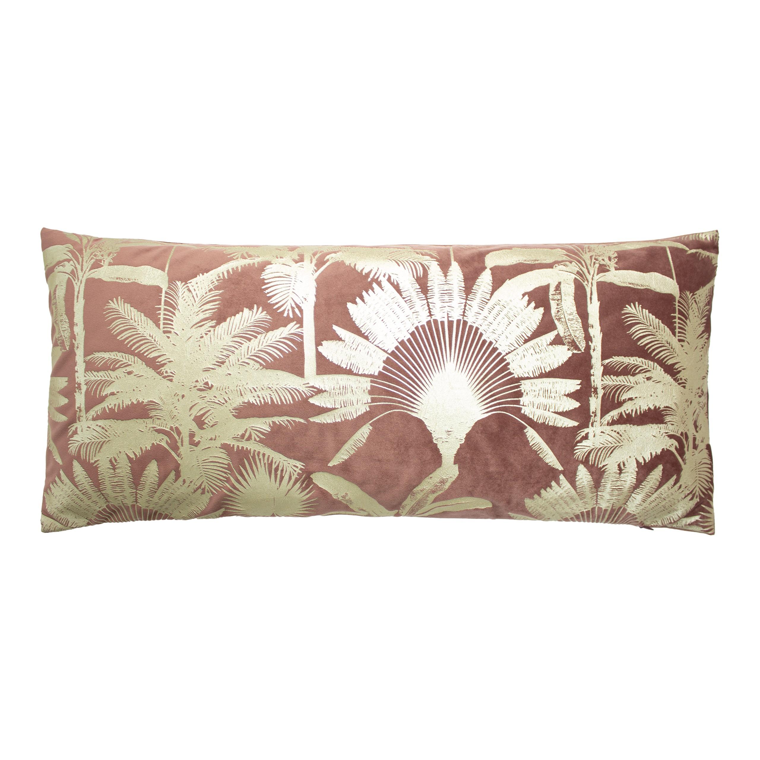 Malaysian Palm Rose Cushion