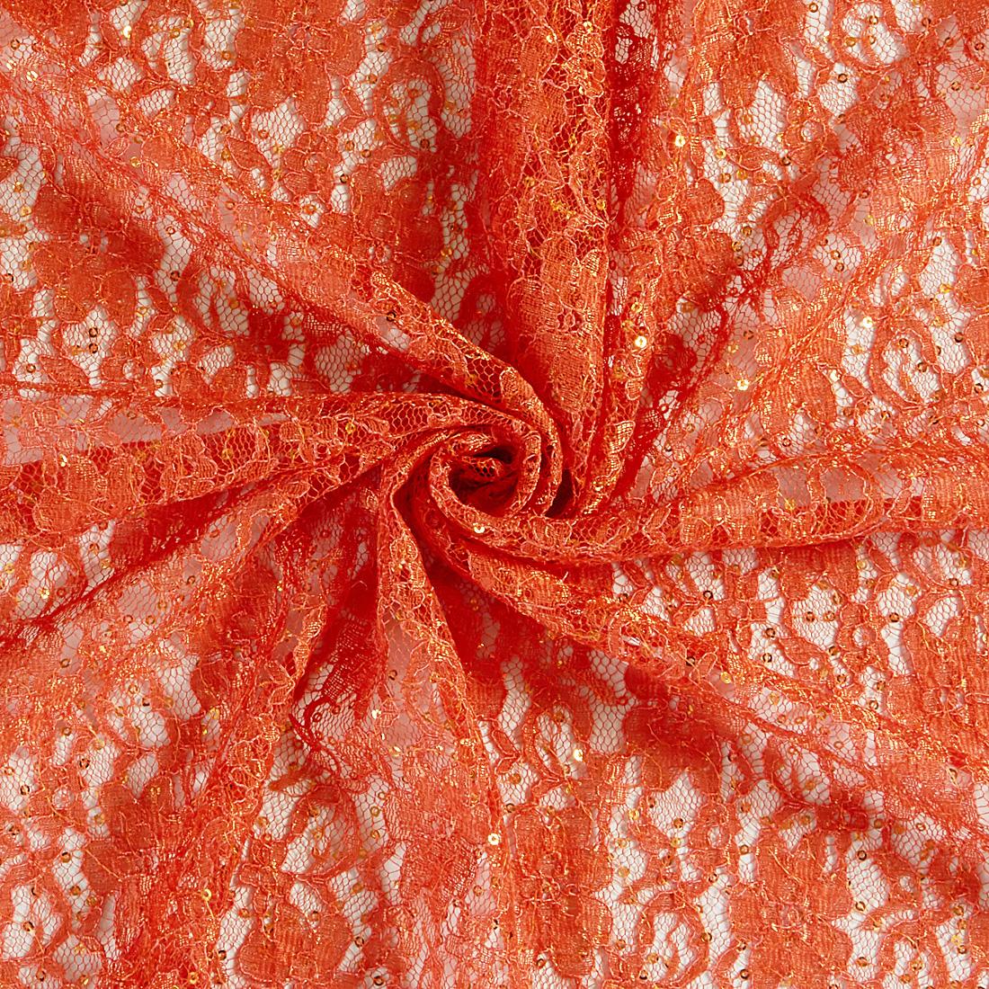 Melody Lace Burnt Orange
