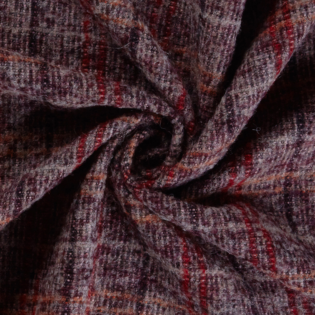 Mohair Coating Mulberry Dress Fabric